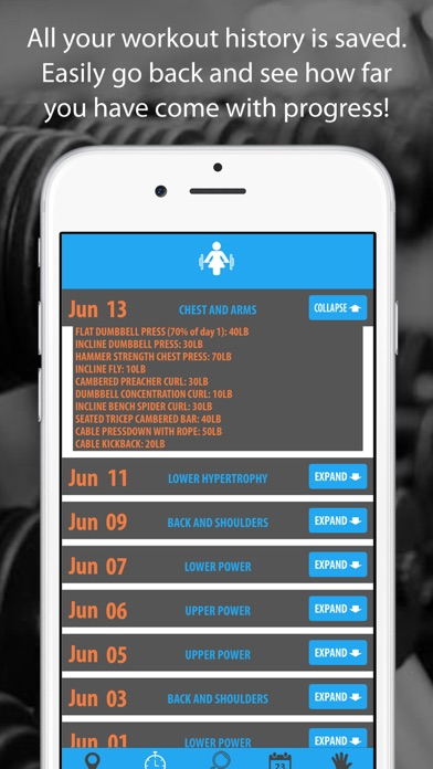 Female Bodybuilding Workout Plan screenshot three