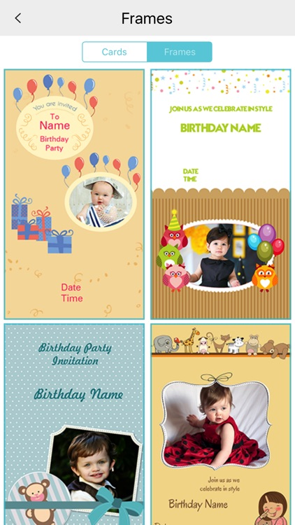 Custom Birthday Invitation Card maker screenshot-3