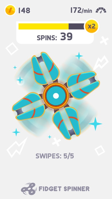 Fidget Spinner app image