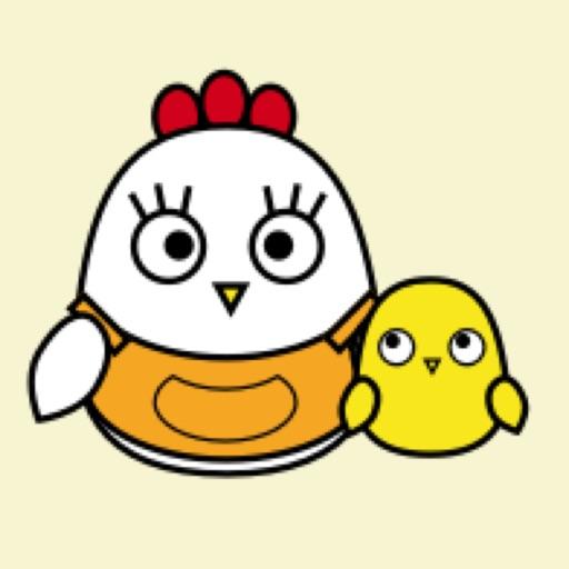 Chicken Mom Moji Kawaii emoji