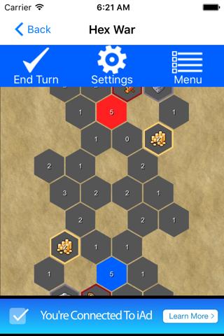 Hexagon War - náhled