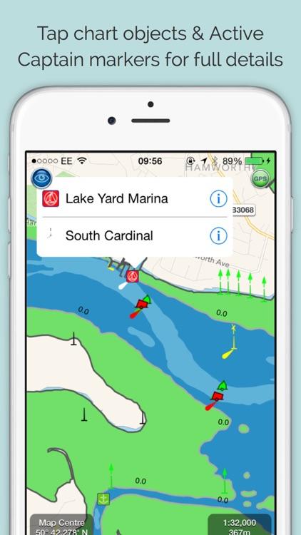SeaNav - HD Nautical Charts and Marine Navigation screenshot-3