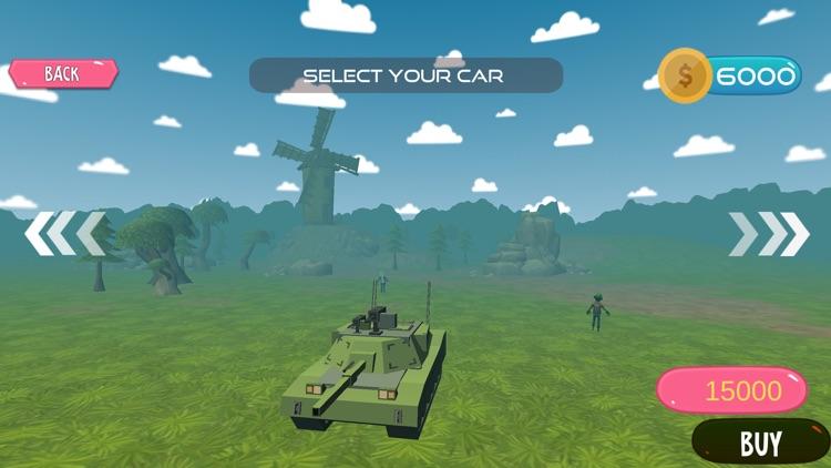 Zombie Safari Adventure – Offroad Survival Game screenshot-4