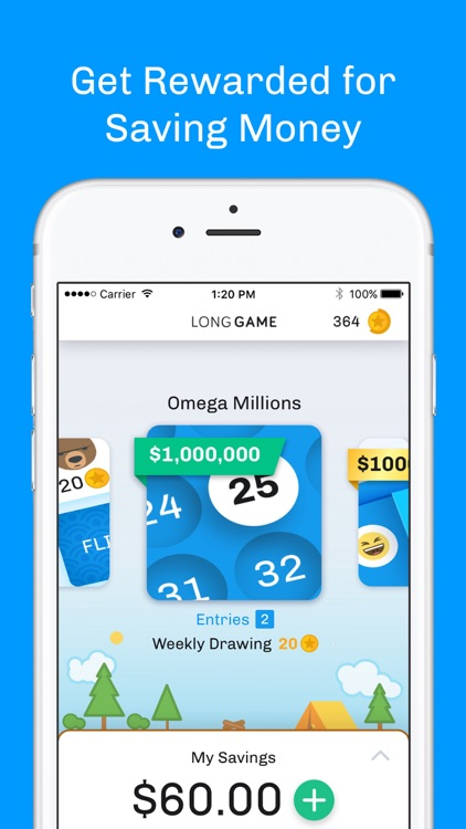 Long Game Savings: The Savings Account with Prizes