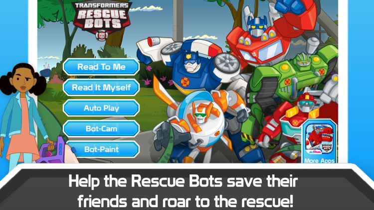 Transformers Rescue Bots: Sky Forest Rescue screenshot-0