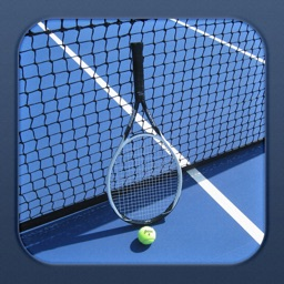 Tennis Score Tracker (Blue Theme)