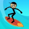Stickman Surfer