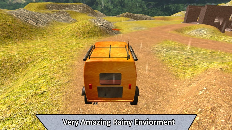 Real Off-Road Rickshaw Transport screenshot-3