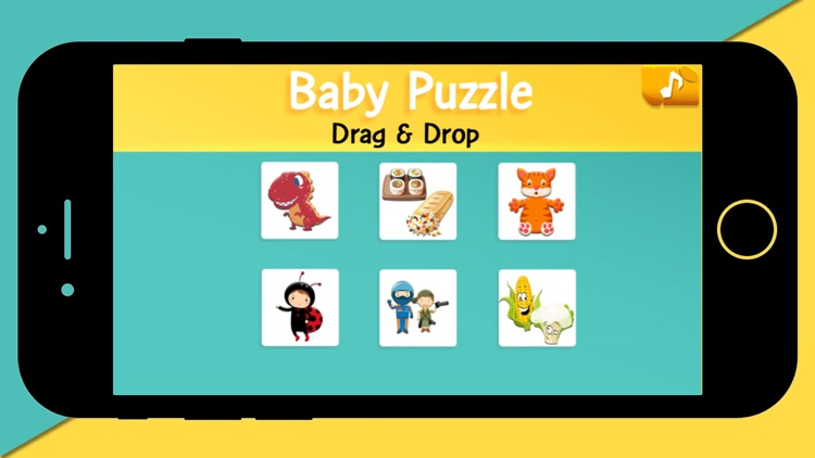 Baby Puzzle Drag & Drop