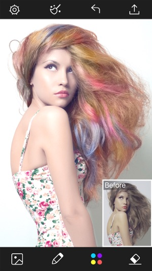 Hair Color Changer - Styles Salon & Recolor Booth on the App Store