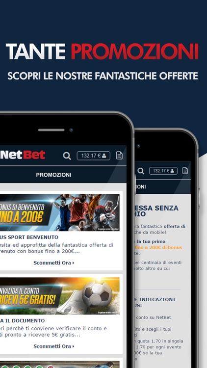 NetBet Scommesse: Scommesse Sportive Online Italia screenshot-4