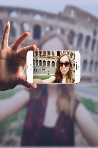Selfie Camera Photo - Make photo in Selfie Style - náhled