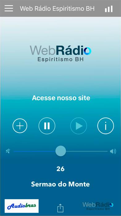 Web Rádio Espiritismo BH screenshot one