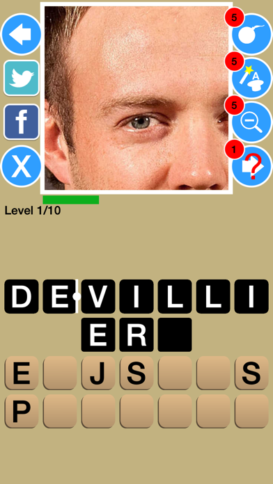 Zoom Out Cricket Game Quiz Maestro screenshot two