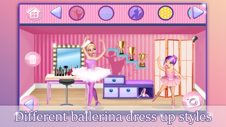 Ballerina Princess Doll House - Game.s for Girls