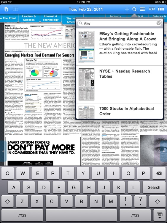 eIBD for iPad screenshot-3