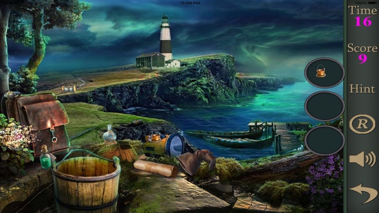 Hidden Objects Of The Lighthouse Phenomena