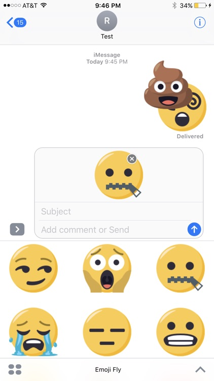 EmojiFly Stickers screenshot-4