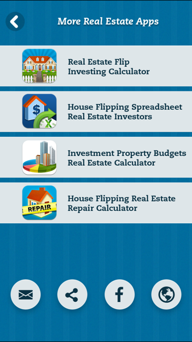 Screenshot for House Flipping Real Estate Repair Calculator in United States App Store