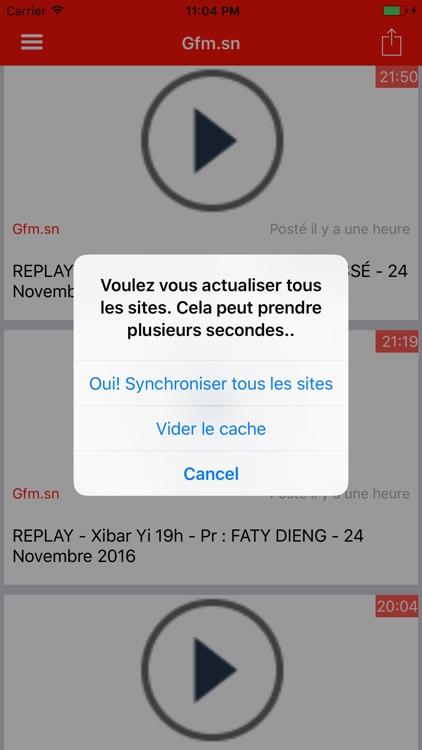 Actu Sénégal Premium sans Pub screenshot-4