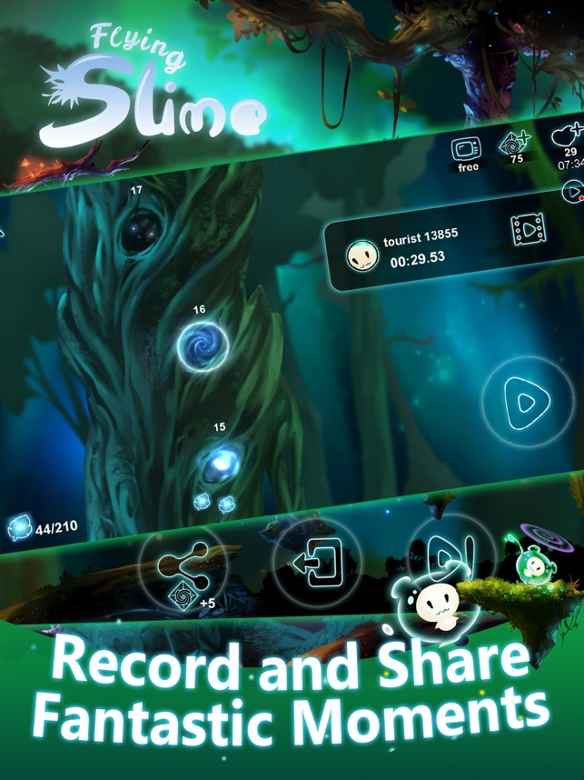 Flying Slime Screenshot