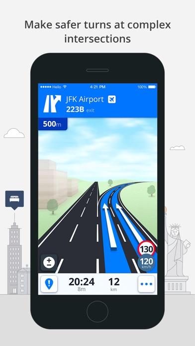 Screenshot #10 for Sygic North America: GPS Navigation, Offline Maps
