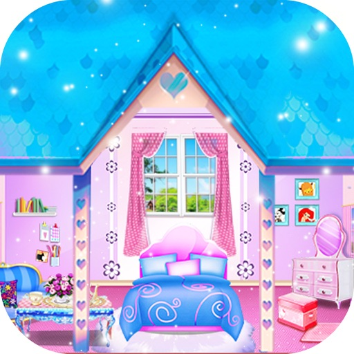 Princess wedding room design girl games by chen zhuo for Room design game app