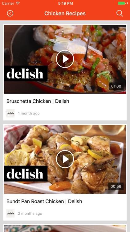 Healthy chicken Recipes: Food recipes & cookbook screenshot-3