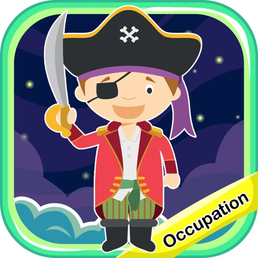 Occupations Vocabulary Tracing Flashcards for Kids