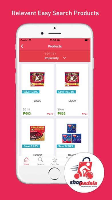 Shoppadala screenshot two