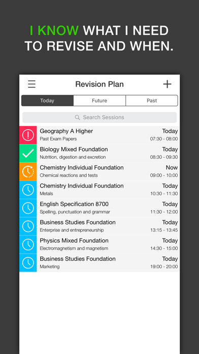 iKnow - Exam Revision Planner for GCSE and A Level screenshot two