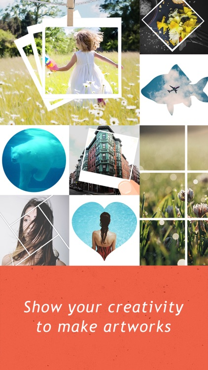 Creative Frames - InstaFrame Photo Editor for Ins screenshot-4