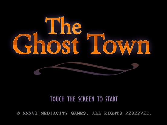The Ghost Town Adventure на iPad