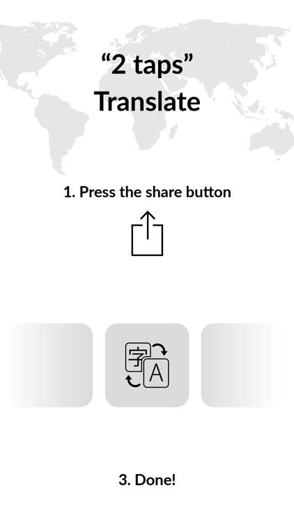 XYZ Translate - Browser Widget screenshot-3