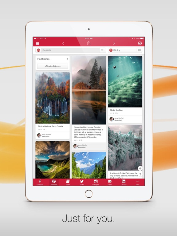 Facely HD for Facebook + Social Apps-ipad-3