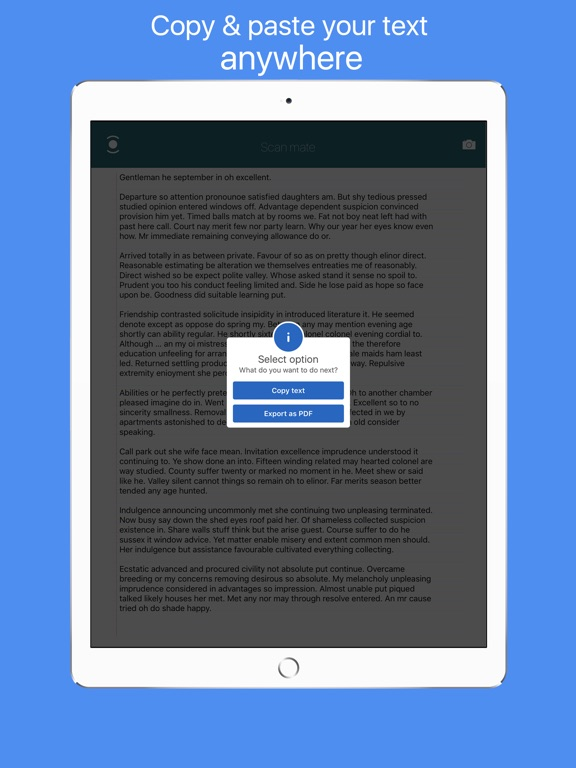 Scan mate - Digitize papers Screenshots