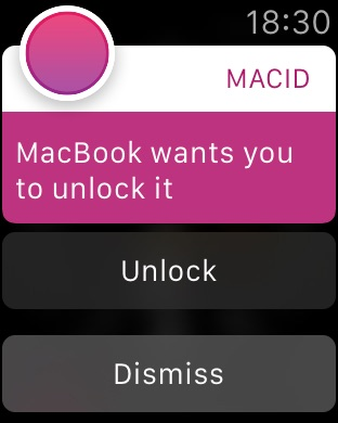 MacID Screenshot