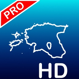 Aqua Map Estonia Pro HD - GPS Nautical charts