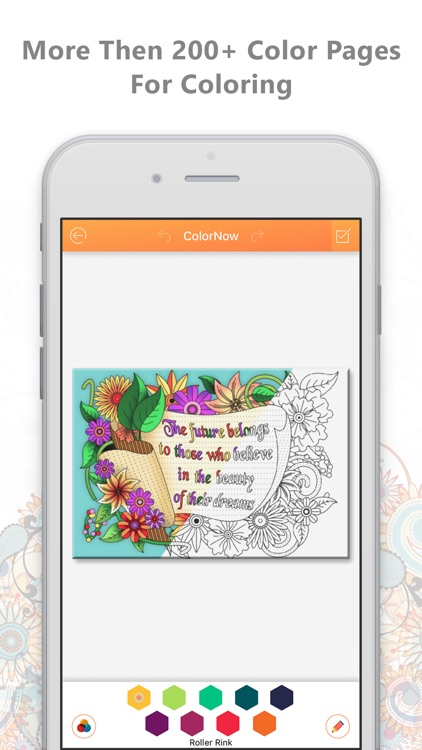 ColorNow - Color Therapy Coloring Book for Adults
