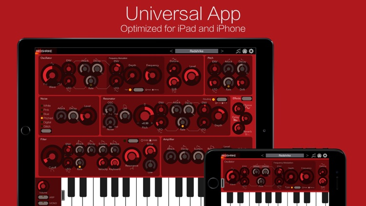 Redshrike Synthesizer screenshot-0