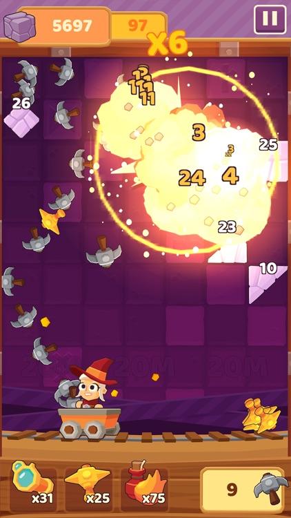 Charming Runes - Endless Arcade Block Breaker screenshot-0