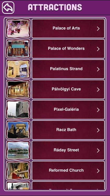 Budapest Offline Map Visitors Guide