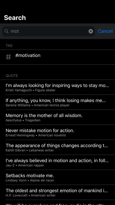 Daily Quote - Positive Quotes iPhone