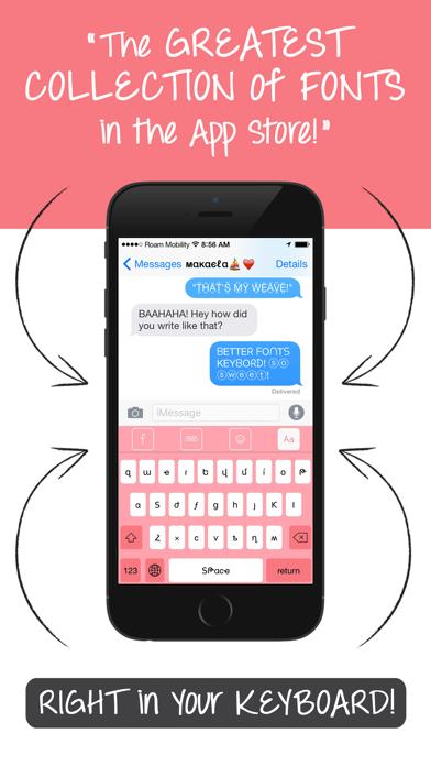Better Font-s Cool Keyboard-s app image