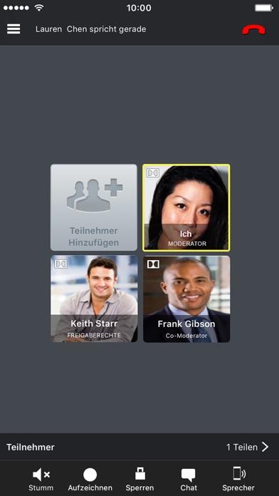 MobileMeetScreenshot von 2