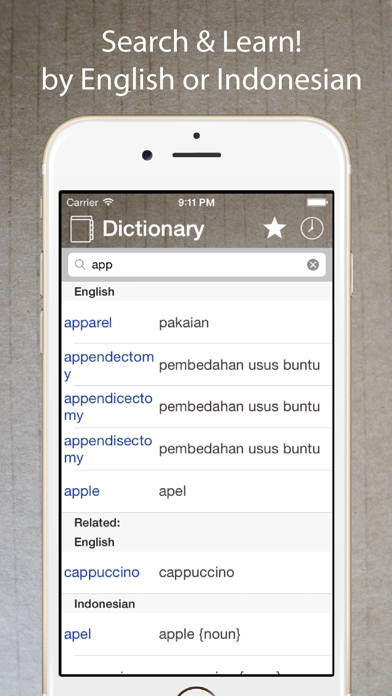 Indonesian English Dictionary*