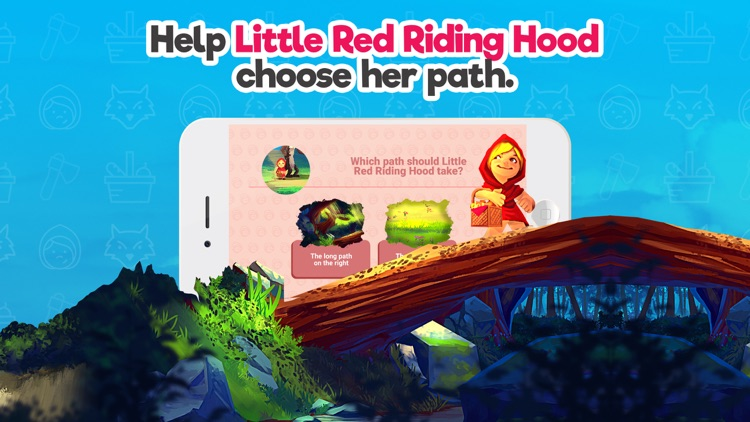 Red Riding Hood Storybook tale screenshot-2