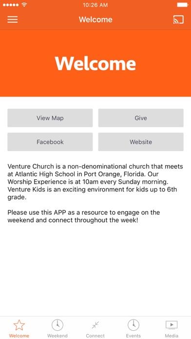 VENTURE CHURCH LIFE screenshot 1