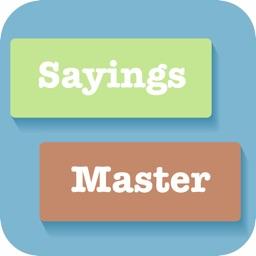 Sayings Builder Master