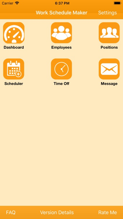 work schedule maker by sentientit software solution
